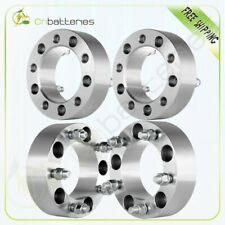 "Full Set 2'' 50mm 5x5.5 1/2"" Studs Wheel Spacers For Dodge Ford F150 Jeep CJ3"