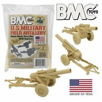 BMC Classic Marx US Military Field Artillery Howitzer - Tan Playset