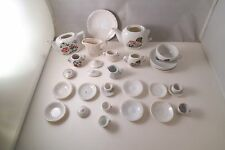 Vintage Mixed Lot of 30 Children's Tea Set Dishes Teapot Cup Saucer Japan