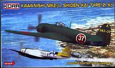 "KORA Models 1/72 NAKAJIMA N1K2-Ja SHIDEN TYPE 21 Ko ""GEORGE"" Fighter"