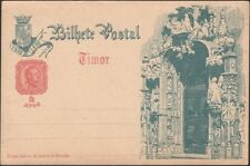 TIMOR, 1898. Post Card H&G 1 with view 1, Mint