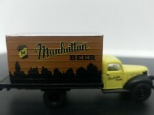 CMW Manhattan beer delivery truck HO scale 1/87