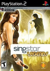 SingStar Legends Stand Alone - PlayStation 2 Stand Alone