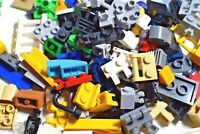 LEGO 120 Small Pieces Random Mix Hinges Clips Bricks Tiles Unique Parts Hand Pic