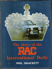Story of the RAC International Rally by Drackett 1980 covers history from 1932