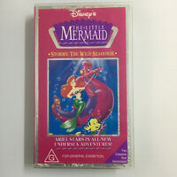 Disney's The Little Mermaid - Stormy The Wild Seahorse. VHS Video Tape Ariel