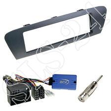 JVC RADIO VOLANTE Interface + RENAULT SCENIC III JZ + pannello radio mascherina grigio Set