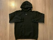 Nike oversized mini center swoosh hoodie vintage black drake travis scott sz S M