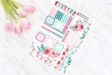 Summer Rose - Hobonichi Weeks - Weekly Planner Kit - Personal Planner Stickers