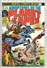 Adventures on the Planet of the Apes #2 (1975) Vf Very Fine (8.0) Marvel