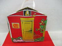 Vintage 1976 Ideal Toy Corp Jody's School House Red Doll Fold Up Playset (JH)