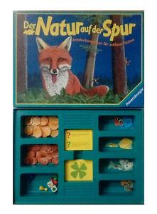 Der Natur auf der Spur Quiz Würfelspiel Brettspiel Ravensburger Kinderspiel
