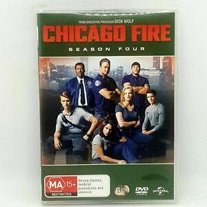 CHICAGO FIRE Season 4 DVD 6 Discs Series Like New Free Post