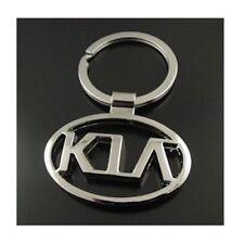 KIA Car Logo Keychain 3D Chrome Metal Car key Chain keyring With Logo