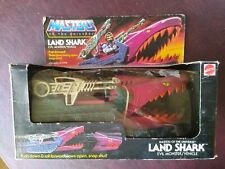 He-Man Masters of the Universe MOTU Land Shark NIB 100% Complete Unused Open Box