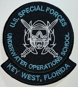 US Special Forces Underwater Operations School Key West FL Patch New Repro A685
