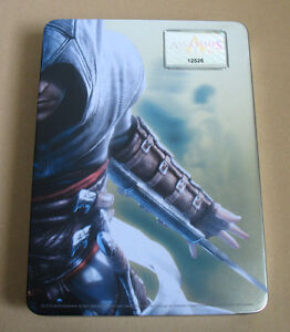 Assassin's Creed Limited Edition Metal Box  extremely rare NO GAME EMPTY BOX