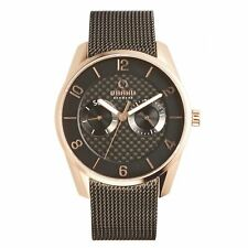 Obaku Flint Night Men's Wristwatch V171GMVBMB