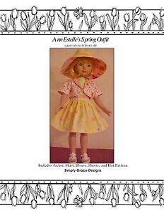 18-19 Inch Doll ClothesPattern - Spring Wardrobe - Ann Estelle - Sylvia Natterer