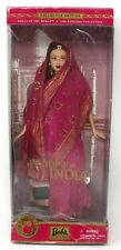 Princess of India Barbie Doll Dolls of The World Collection New in Damaged box