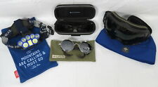 Lot 5 Mountain Climbing Caving Items Zeal Video Goggles,Sunglasses,Headlamp,Cap