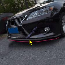 For Lexus ES200 ES250 ES300H ES350 rubber Front Lower Bumper Spoiler Lip 12-16