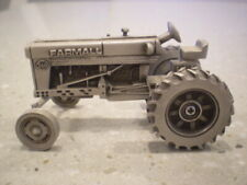 Farmall Pewter M Narrow Front By SpecCast 1/43rd Scale 3 inches long