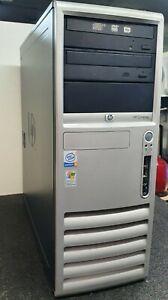 UC HP COMPAQ DC 7600 /CONVERTIBLE MINITOWER /P4 3.0GHZ/3GB DDR2/WINDOWS XP