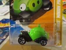 Hot Wheels Angry Birds Minion Pig 2012 New Models Green