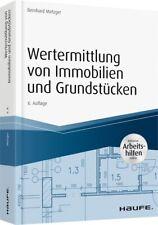 Wertermittlung von Immobilien und Grundstücken - Neupreis 49,95?