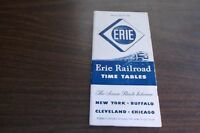 APRIL 1950 ERIE RAILROAD FORM 1 SYSTEM PUBLIC TIMETABLE