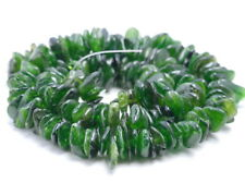 9-11MM  DIOPSIDE GEMSTONE RONDELLE SLICE LOOSE BEADS 15.5""