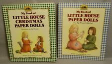 2 Little House on the Prairie Paper Doll Sets - 1990s - Unused + 1 is Sealed