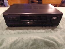 Panasonic Receiver SA-HT210  with Dolby Pro Logic Surround and Phono Inputs.