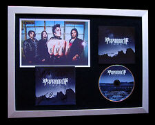 PAPA ROACH+SIGNED+FRAMED+F.E.A.R.+RESORT+FEAR=100% AUTHENTIC+EXPRESS GLOBAL SHIP
