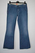 HUGO BOSS Jeans HANF Gr 36/38 Hellblau Damen 28/32 Jeanshose 189,- EDEL D1313
