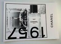 CHANEL VIP GIFT postcard 1957