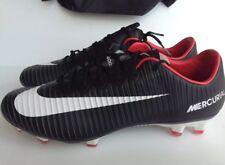 Nike Mercurial Vapor XI FG Firm Ground Soccer Cleats 831958 002 Men's Size 9