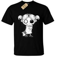 Fille Zombie T-Shirt Hommes Gothique Rock Burton Halloween Effrayant