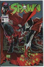 Spawn #8 Image Comics Feb. 1993 NM- 9.2 Todd McFarlane artwork.