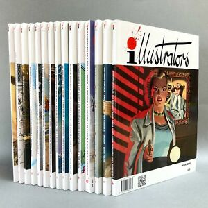 Illustrators Quarterly - Selected issues