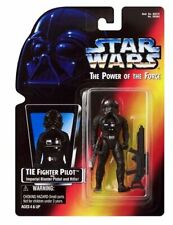 Star Wars Power of The Force Red Card TIE Fighter Pilot Kenner Figure