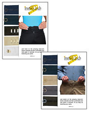 PANTS SAVER INST-INCH  WAISTBAND EXTENDERS 5 button and 5 hook