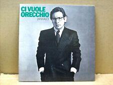 Enzo Jannacci- lp- Ci vuole orecchio- copertina GATEFOLD