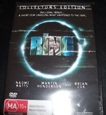 DVD Ring The Naomi Watts Collector's Edition Horror Thriller Region 4 BNS