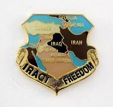Iraqi Freedom Lapel Hat Pin Military Marines Army Navy Air Force PPM714