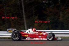 Niki Lauda Ferrari 312 T2 Grand Prix 1977 fotografía de EE. UU. 2