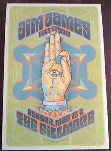 Jim James (My Morning Jacket) Gig Poster, San Francisco 2013 - 13 x 19' Print