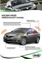 Holden Cruze Security Upgrade with remote auto window open/close 87% off RRP