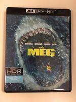Meg (4K Ultra HD / Blu-ray) No Digital Or Slip Cover